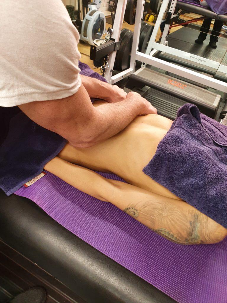 Luci massage demonstration